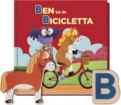 Ben va in bicicletta/ [testi Amika Messenger, Reyes Salvador; illustrazioni Marta García Pérez, Aitor Prieto Reyes, María Vidal Martínez]