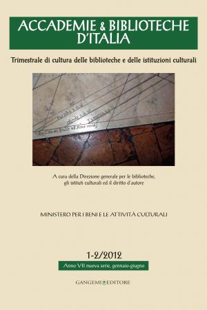 Accademie e biblioteche d'Italia