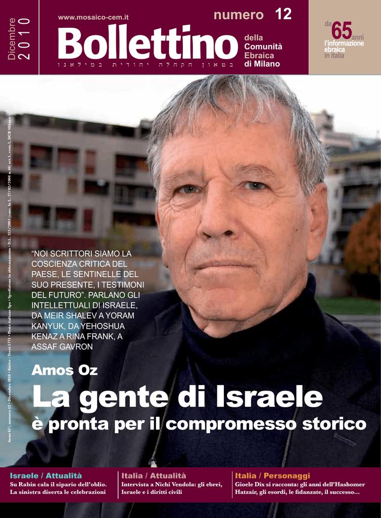 Bollettino della Comunità ebraica di Milano
