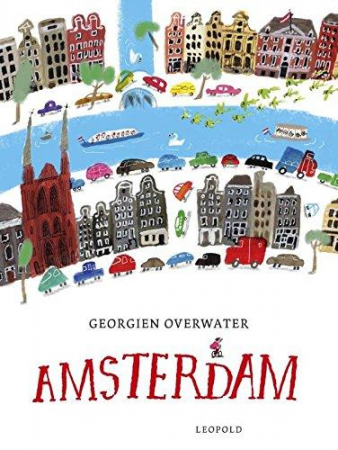 Amsterdam / as seen and drawn by Georgien Overwater ; translated from the dutch by Lorraine T. Miller
