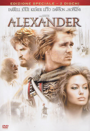 Alexander [DVD] / un film di Oliver Stone ; [with] Colin Farrell, Angelina Jolie, Val Kilmer, Anthony Hopkins
