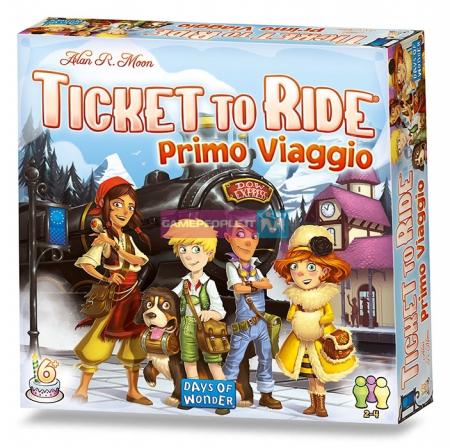 Ticket to ride. Primo viaggio