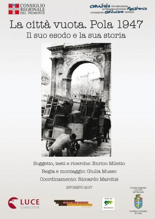 La città vuota [DVD] : Pola 1947 : il suo esodo e la sua storia / soggetto, testi e ricerche Enrico Miletto ; regia e montaggio Giulia Musso ; coordinamento Riccardo Marchis