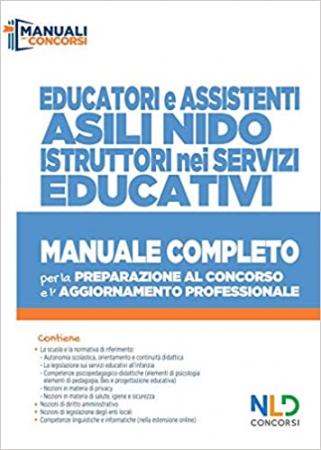 Educatori e assistenti asili nido, istruttori nei servizi educativi