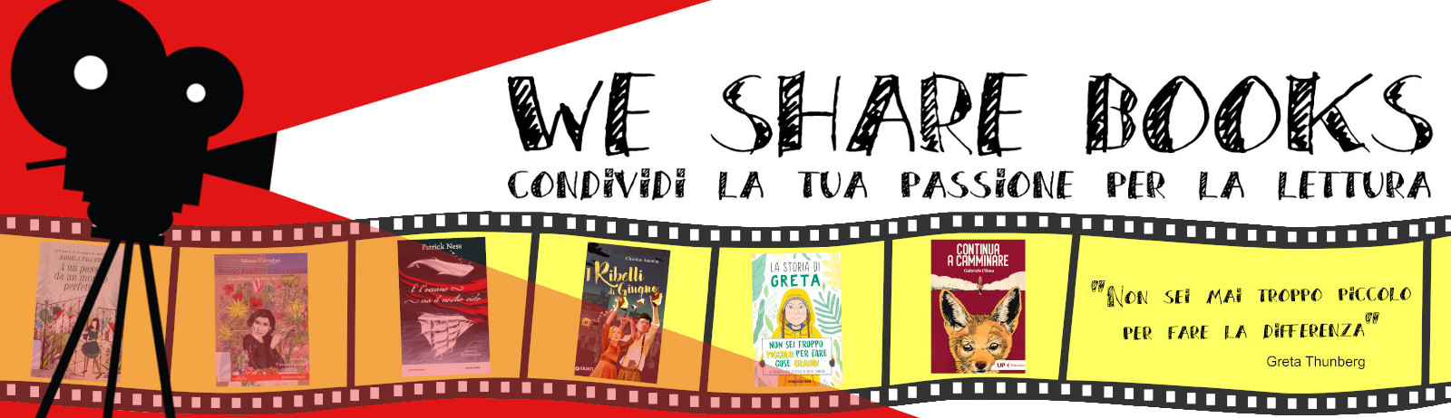 Concorso We Share Books